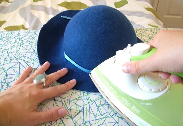 Step by step: Blocking a felt hat… |